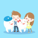 子どもの歯が抜けるのはいつ?抜ける順番・生える順番・注意点・ケア方法をチェックのアイキャッチ